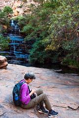 Debra _5715 (hkoons) Tags: moremigorge peacecorps southernafrica africa botswana debra palapye gorge hike hiking stream trail