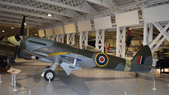 Supermarine Spitfire F.24 c/n CBAF/255 United Kingdom Air Force serial PK724 (sirgunho) Tags: royal air force raf museum hendon london england united kingdom preserved aircraft aviation supermarine spitfire f24 cn cbaf255 serial pk724