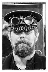 IMG_0064-7 Re-Edit (Scotchjohnnie) Tags: whitbysteampunkweekendfebuary2019 whitbysteampunkweekend steampunk costume people portrait male blackwhite mono monument thepavillion whitby yorkshire northyorkshire canon canoneos canon6d canonef24105mmf4lisusm scotchjohnnie