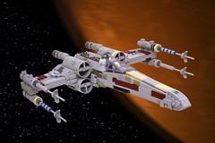 X-Wing (Marshal Banana) Tags: starwars lego xwing tie moc