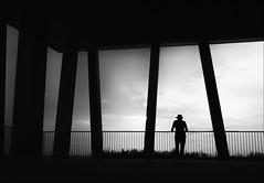 F_MG_3275-2-BW-Canon 6DII-Canon 16-35mm-May Lee 廖藹淳 (May-margy) Tags: maymargy bw 黑白 人像 背影 逆光 剪影 走廊 柱子 扶手 街拍 線條造型與光影 天馬行空鏡頭的異想世界 幾何構圖 點人 台灣攝影師 台南市 台灣 中華民國 fmg32752bw portrait viewfromback silhouette backlighting corridor rail humaningeometry humanelement streetviewphotography mylensandmyimagination linesformandlightandshadow naturalcoincidencethrumylenstaiwanphotographer tainancity taiwanphotographer canon6dii canon1635mm maylee廖藹淳