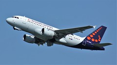 OO-SSW (AnDyMHoLdEn) Tags: brusselsairlines a319 lufthansagroup staralliance egcc airport manchester manchesterairport 23r