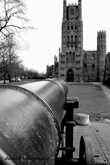 Ely Cathedral (damhphotography) Tags: ely cannon monochrome cathedral perspective blackandwhite