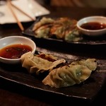 Housemade pork potstickers thumbnail