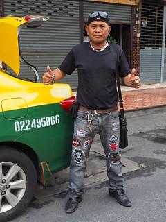 Bangkok - Proud taxi driver