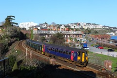 153329 150249 Livermead (Robert Sherwood) Tags: 153329 150249 pass livermead working 2t21 1520 exeter central paignton sunday 24th march 2019