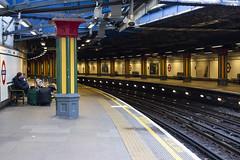 Bow Road Station (London Less Travelled) Tags: uk unitedkingdom britain england london eastlondon eastend towerhamlets city urban suburban suburb suburbia bow bowroad station underground tube platform tfl transport publictransport