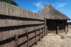 Botswana Community Village House Exterior (h0n3yb33z) Tags: botswana animals wildlife bush village community africa