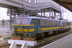 SNCB 2710 (bobbyblack51) Tags: sncb class 27 bn acec bobo electric locomotive 2710 oostende station 2001