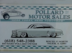 Pollard Motor Sales (jHc__johart) Tags: sign advertising image carimage