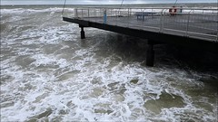 Sturmtief *Benjamin* am 08.01.2019 (Gabi Liermann) Tags: meer ostsee schleswigholstein sturmflut