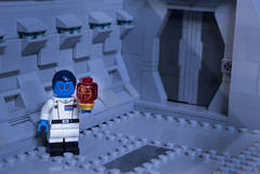 Grand Admiral Thrawn (Ben Cossy) Tags: lego moc afol tfol grand admiral thrawn alliance treason death star plan empire imperial wars rebels