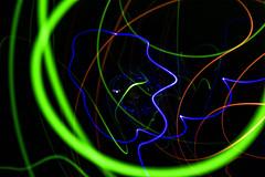 Light Toys (adamopal) Tags: canon canon5d canon5dmkiii canon5dmarkiii lighttoys newlighttoys psychedelic lightlines longexposure longexposureexperiment experiment experimental green red yellow orange blue cyan black white