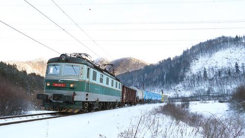 ZSSK Cargo 183 021-5, Strečno