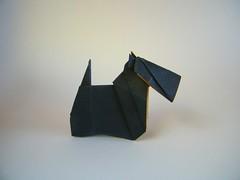 Terrier - Yamaguchi Makoto (Rui.Roda) Tags: origami papiroflexia papierfalten chien dog perro cão cachorro terrier yamaguchi makoto
