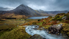 Tryfan Mountain (Bridgewater Photography) Tags: canon6d ef1740mmf4lusm touristattraction landscape storm nature water mountains canon noperson clouds wales wild waterfall beautiful uk eos6d scenic rocks outdoors panorama majestic conservation snow lake betwsycoed unitedkingdom gb