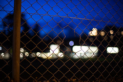 i am not the moon (nicolasheinzelmann) Tags: zaun lichter bokeh marzili schatten licht farbe farbig blue märz march schweiz canoneos5dmarkiv 5dmkiv 5dmiv canonef50mmf14usm colour color day dslr switzerland lights light urban 5märz2019 nicolasheinzelmann