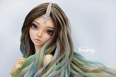 DSC_2097 (sonya_wig) Tags: fairytreewigs wig bjdwig minifeewig bjd bjdminifee minifeechloe handmadedoll bjddoll dollphoto fairyland fairylandminifee minifee chloe bjdphotographycoloringhair unicorn