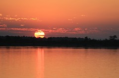 Sunset Brahmaputra (7) (Ann Collier Wildlife & General Photographer) Tags: sunset brahmaputra river brahmaputrariver moon northernindia assam