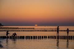 Sonnenuntergang in Zingst (B_B Fotos) Tags: ostsee dars zingst licht strand deutschland onnenuntergang