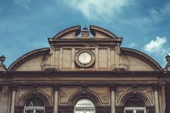 Time (koskaram) Tags: thessaloniki θεσσαλονίκη macedonia μακεδονία time clock sky