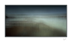 Solitude (After-the-Rain) Tags: solway mawbray rainyday cumbria february2019 grass dunes coast sea sky water isolation solitude magical winter walk pebbles icm intentionalcameramovement ©joanthirlaway
