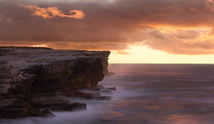 Sometimes You Cant Make It On Your Own (Emerald Imaging Photography) Tags: potterpoint kurnell capesolander boatharbour syd sydney newsouthwales nsw cronulla cliff clifftop clifftops longexposure le australia australian australianlandscape seascape sunrise sunset water waves sea rocks