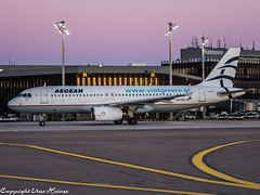 Aegean Airlines SX-DGI (U. Heinze) Tags: aircraft airlines airways airplane planespotting plane haj hannoverlangenhagenairporthaj flugzeug eddv olympus