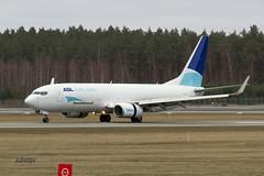 IMG_2545@L6 (Logan-26) Tags: boeing 73783nbcf oeimc msn 32580 asl airlines riga international rix evra latvia cargo airport aleksandrs čubikins belgium