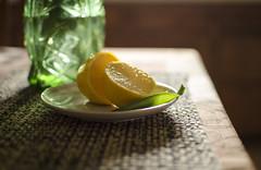 Lemon Squeeze (aaron_gould) Tags: lemon squeeze nikkor 35mm indoor home light d7000