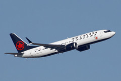 C-FSDQ Air Canada 737-8 MAX. Heathrow 24/02/2019 (Tu154Dave) Tags: canada boeing cfsdq max 737800 737 7378max lhr london heathrow airport aircraft