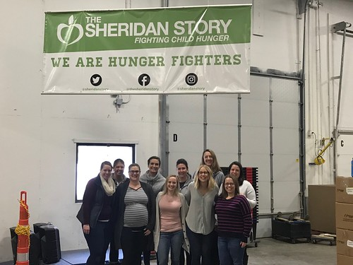 Headway Food Drive Sorting Event 3/12/19