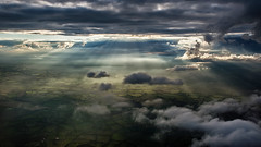 In the clouds over Ireland (tonyguest) Tags: