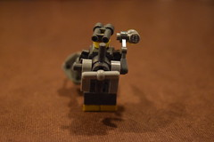 Robot Miner Back View (LegoLyman) Tags: robotminer robot miner crystals lego legolyman awesomelego moc rock mine lonely mining drill backpack energypack light