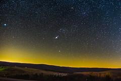 Orion over Benezette (Troy A. Snead) Tags: stargazing astrophotography photography nightphotography starrynight astroscape astronomy astrophotos stars nightscape elkcounty elkviewingarea benezettepa