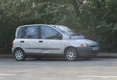 2002 Fiat Multipla 1.9D (occama) Tags: lo51 ekz 2002 fiat multipla old car cornwall uk silver italian bangernomics