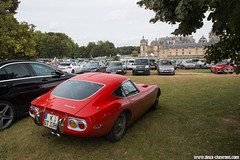 Chantilly Arts & Elegance 2016 - Toyota 2000 GT (Deux-Chevrons.com) Tags: toyota2000gt toyota 2000 gt 2000gt car coche voiture auto automobile automotive france chantilly chantillyartselegance chantillyartelegance classiccar classic classique ancienne collection collector collectible vintage oldtimer