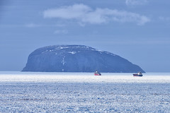 Escort Out Of The Bay Of Islands (Zircon_215) Tags: icebreaker ccgslouissstlaurent mariedesgagnés tanker ice weebol guernseyisland