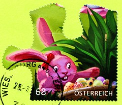 great stamp Austria 68c Easter Bunny Happy Easter (Osterhase, conejo de Pascua, lièvre de Pâques, coniglio pasquale, húsvéti nyúl; Frohe Ostern! Joyeuses Pâques! С Па́схой! Buona Pasqua! Feliz Páscoa!) postage timbre Autriche selo sello francobollo Austri (stampolina, thx for sending stamps! :)) Tags: austria autriche 奥地利 østrig oostenrijk itävalta αυστρία ऑस्ट्रिया ausztria オーストリア 오스트리아 østerrike австрия аустрија rakúsko rakousko avstrija österrike ออสเตรีย avusturya austrija austurríki stamps znaczkówpocztowych selyo poštovéznámky stamp 切手 briefmarke briefmarken スタンプ postzegel zegel zegels марки टिकटों แสตมป์ znaczki 우표 frimærker frimärken frimerker 邮票 طوابع bollo francobolli bolli postes timbres sellos selos razítka γραμματόσημα bélyegek easterbunny happyeaster osterhase conejodepascua lièvredepâques conigliopasquale húsvétinyúl froheostern joyeusespâques спа́схой buonapasqua felizpáscoa easter ostern pink puzzle rosa eggs húsvét pâques pasqua