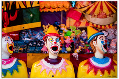Creep Sideshow Alley Clowns (Bear Dale) Tags: those creep sideshow alley clowns always looking you ulladulla southcoast new south wales shoalhaven australia beardale lakeconjola fotoworx milton nsw nikond850 photography framed nature nikon d850 nikkor afs 2470mm f28e ed vr