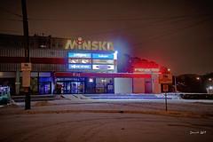 IMG_6921 (denjah) Tags: 2018 latvia riga городскоеосвещение зима зимнийвид ноч ночноефото снег улица фонарь iela night nightshot snow winter магазин город denjahphoto