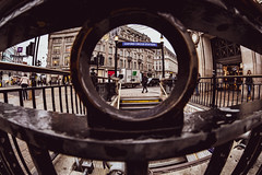 The Samyang street 1... (The all seeing i) Tags: samyang 8mm fisheye london wide wideangle flickr fuji fujifilm outdoors winter 2018