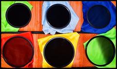 Filters (rustyruth1959) Tags: cases round circles indoor colouredcloths polarisingfilter ndgrad ndfilter filters saturdayselfchallenge ssc yorkshire england uk nikon1855mm nikond5600 nikon