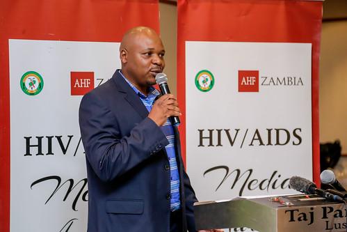 AHF Zambia 2018 Media Award