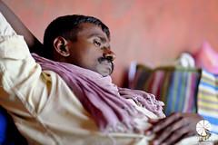 Pink & Yellow (Lotus Mi) Tags: fuji fujifilm color people man xf56mmf12r xpro2 travel journey delhi india trip sleep portrait
