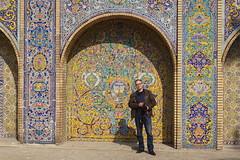 Bernd Seiler,  Kakh-e Golestan (peter.velthoen) Tags: mosaic wall painting palace tehran railtravel iran global berndseiler farrailtours kakhegolestan unseregrossegeliebteorganisator petervelthoen