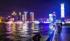 Shanghai (werner boehm *) Tags: wernerboehm shanghai china thebund waterfront reflction night