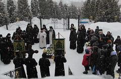 25. Похороны схимонахини Магдалины (Черных) 11.01.2019