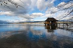 Lake Zurich (Bephep2010) Tags: 2018 7markiii alpha au auzh bootshaus herbst ilce7m3 lakezurich sel1635z schweiz see sony switzerland wolken zurich zürich zürichsee autumn boathouse clouds fall lake ⍺7iii kantonzürich ch