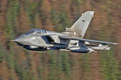 RAF Tornado GR4 on possibly the last low level sortie of it's fabulous career.  9/1/19, LFA17. (TheSpur8) Tags: tornado gr4 lowlevel aircraft date uk landlocked lakedistrict jet military skarbinski transport 2019 raf